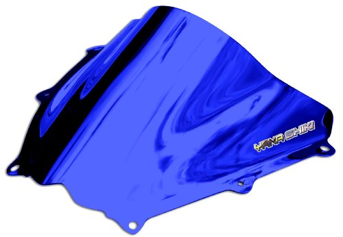 Blue Chrome Windscreen - 3