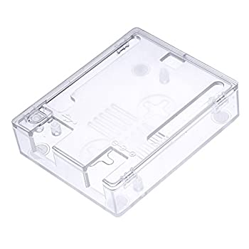 RICHEN ABS Case / Shell / Enclosure for Arduino UNO R3 (Clear)