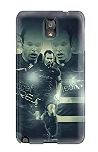 High Quality HVnboEJ10573FCFcG Andreas Iniesta Tpu Case For Galaxy Note 3
