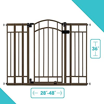 Bronze Summer Infant Multi-Use Deco Extra Tall Walk-Thru Gate