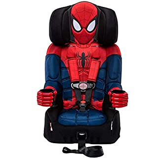 Your child will love hopping into the car knowing Spider-Man is along for the ride! The KidsEmbrace Marvel Spider-Man 2-in-1 Booster Car Seat has been rigorously tested and exceeds Federal Motor Vehicle Safety Standards (FMVSS 213), plus it was given...