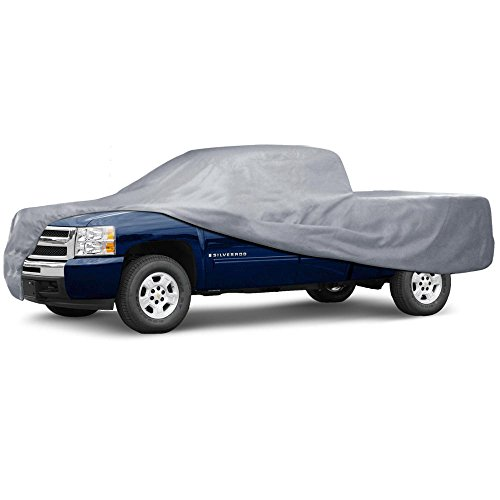 Motor Trend Auto Armor Outdoor Premium Truck Cover All Weather Protection Waterproof Cover (7 Size)
