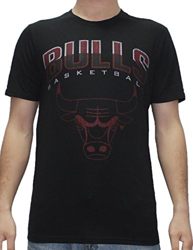 NBA Mens CHICAGO BULLS: Athletic Short Sleeve T Shirt M Black by NBA