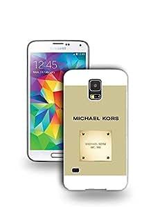 FashionLVeoo S5 Funda Case, Michael Kors (MK) Luxury Brand Printed Pattern Design Protective Funda Case for Galaxy S5, TPU Hard Cover for Samsung Galaxy S5 i9600 - Michael Kors (MK),#181