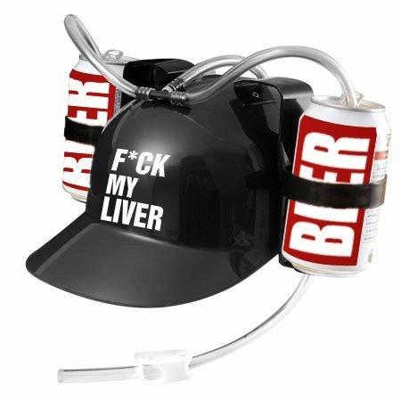 F*ck My Liver Party Time Beer Helmet ()