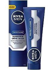 Krem do golenia NIVEA MEN Protect & Care kremową pianką, 100 ml
