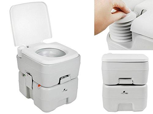 Campingtoilette Reisetoilette Toilette WC mobile Toilette Camping 20l #2630