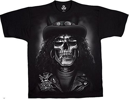 Slash - Camiseta Calavera - Official Camiseta.: Amazon.es: Ropa y accesorios