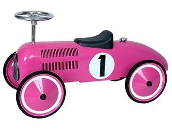 Niños Coche Para Diseño Retro De Color Carreras Rosa Marquant XiukZP