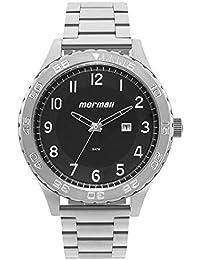 Relógio Masculino Mormaii Analógico Com Data MO2115BA/1P Prata