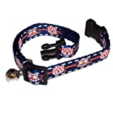 Pet Goods Collegiate 3/8-Inch Cat Safety Collar, Auburn University