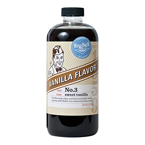 Hires Big H Vanilla Syrup, Great for Soda (Vanilla Ice Cream Cone)