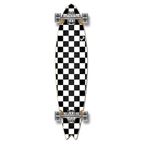 special graphic fishtail complete longboard