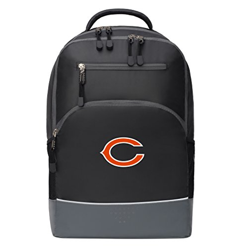 The Northwest Company Officially Licensed NFL Chicago Bears Alliance Backpack, Black