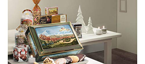 Lebkuchen Schmidt Nuremberg Gift Chest Filled with Assorted German Holiday Sweet Delicacies, 2Kg, Product of Germany