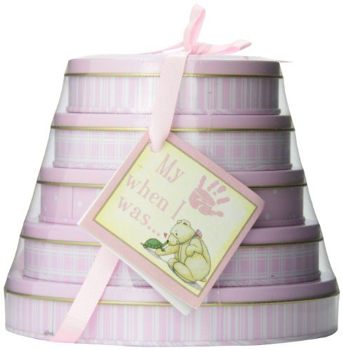 Child to Cherish Handprints Tower Of Time Kit in Pink by Child to Cherish (Image #1)