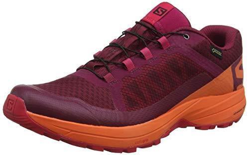 Salomon Trail Para Xa beet W De Running 000 Rojo Red virtual nasturtium Mujer Gtx Elevate Zapatillas Pink 8wTrYS8x