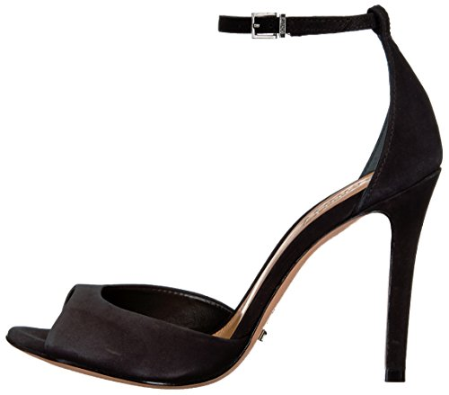 Schutz Women's Saasha Lee Dress Sandal, Black, 6.5 M US