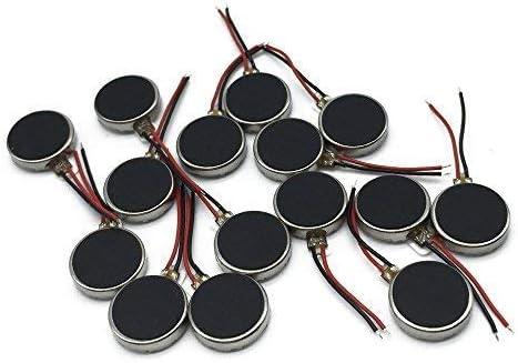 ZJN-JN モバイル携帯電話ポケットベルタブレット家電のための15 PCS 10mmx3mmミニ振動モータDC 3V 12000rpmでフラットコインボタン型マイクロDC振動モータ 工業用モータ