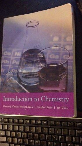 Introduction to Chemistry - University of Toledo S