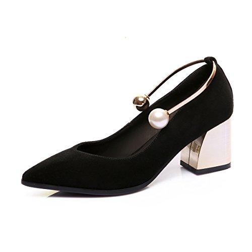 scarpe seven di ruvidi levigatura black cuoio 33 scarpe Thirty KPHY SwzXZZ