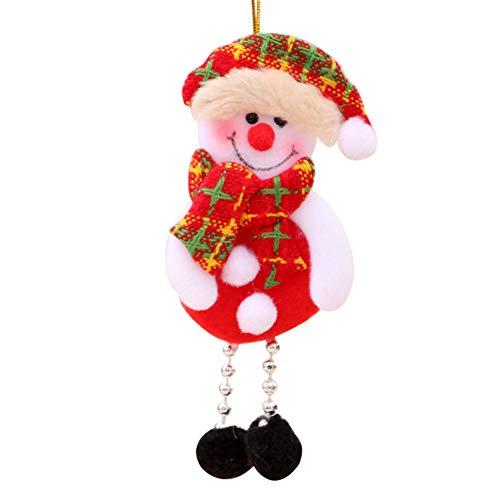 Brave669 [Christmas Decoration]-Christmas Santa Deer Snowman Ornament Holiday Party Xmas Tree Hanging Decoration,Christmas Lights ()