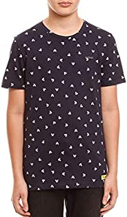 Camiseta Full Print Disney: Mickey's, Colcci Fun, Men