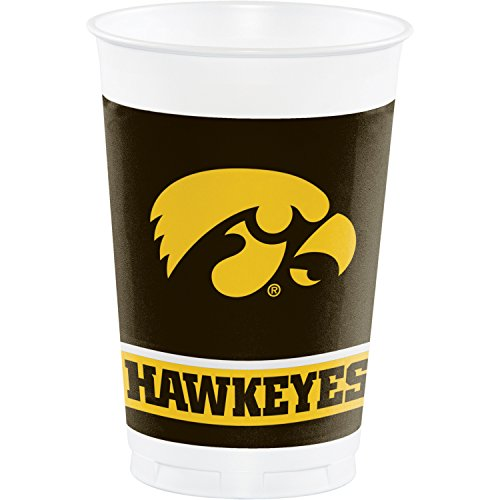 University Of Iowa Party (University of Iowa Plastic Cups, 24)