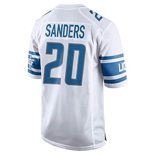 Men's/Women's/Youth_Detroit_#20_Barry_Sanders_White_Game_Jersey