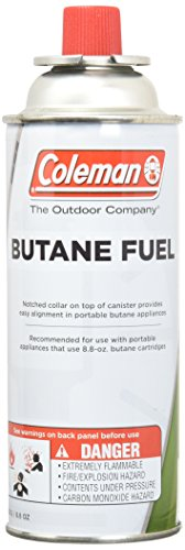 - COLEMAN CO-FUEL 9701-700 Butane Canister, 8.8 oz