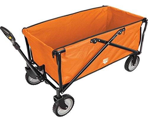 Quest Flat Fold Wagon (Orange)