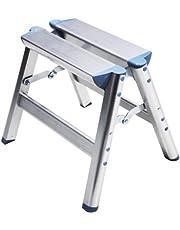Telesteps 100SS OSHA Compliant 12 inch Aluminum Folding Step Stool