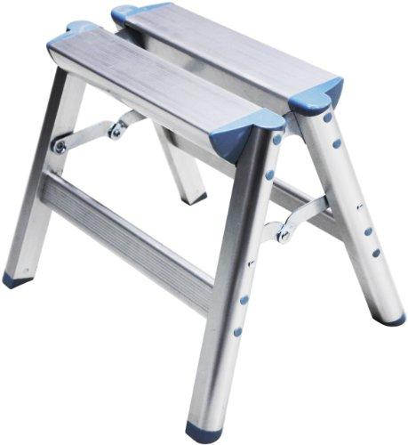 Telesteps 100SS OSHA Compliant 12 inch Aluminum Folding Step Stool ()