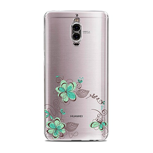 Price comparison product image Beryerbi Huawei Mate 9Pro Case Slim-Fit Anti-Scratch Shock Proof Anti-Finger Print Flexible TPU Gel Protective Cover (10,  Mate 9 Pro)