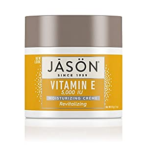 Jason Natural Cosmetics Moisturizing Cream, Vit E, 5000 IU, 4 oz