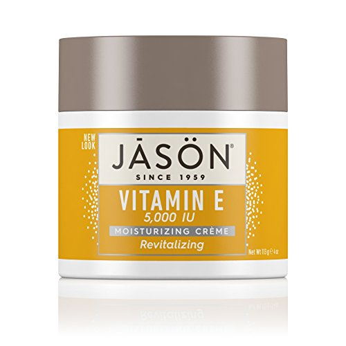 JASON Revitalizing Vitamin E 5,000 IU Moisturizing Crème, 4 Ounce Container