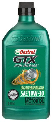 BP lubricantes 06450 Castrol 10 W30 GTX alto kilometraje aceite de ...