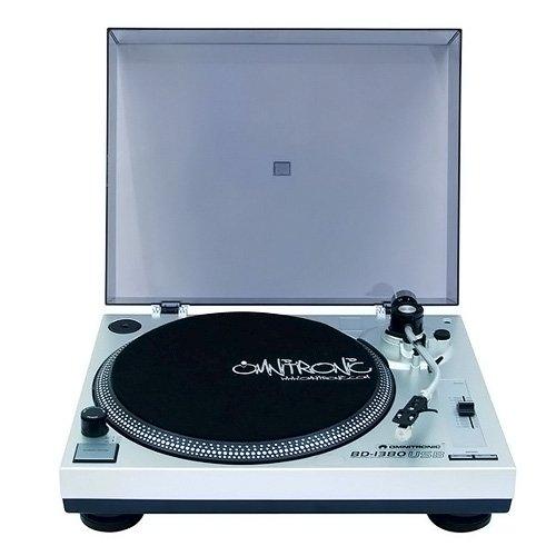 Omnitronic-10603043-BD-1380-USB-Giradischi-Piatto-Argento