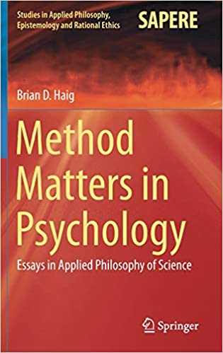 amazoncom method matters in psychology essays in applied  method matters in psychology essays in applied philosophy of science  studies in applied philosophy epistemology and rational ethics st ed   edition