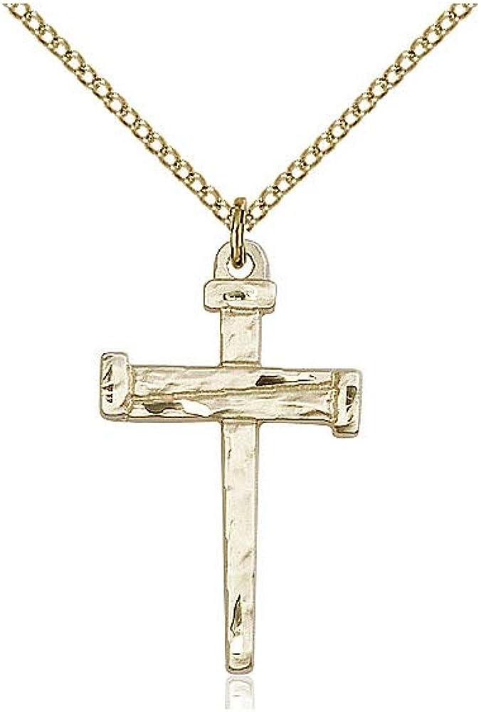 DiamondJewelryNY 14kt Gold Filled Cross Pendant