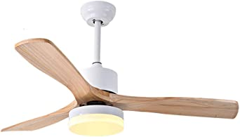 42 pulgadas de madera maciza ventilador de techo luz