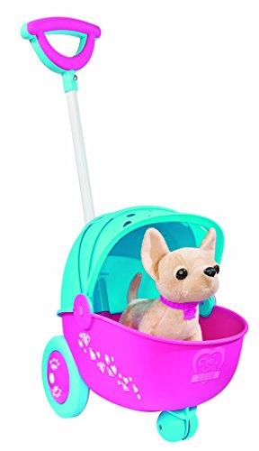 Simba 105894658 - Chi Chi Love Hundewagen mit Plüschhund