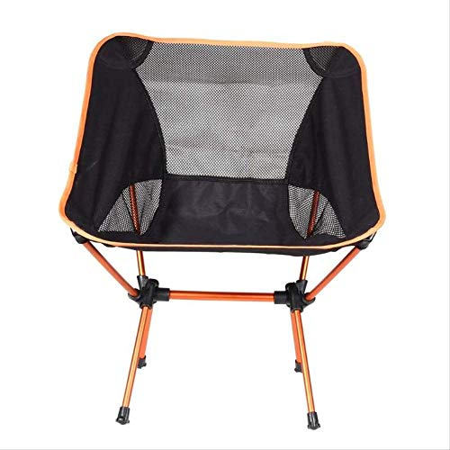 CAMEAGLE Camping Chair Ultralight Fishing Chair Backrest Chair Folding Seat Stool Portable Camping Hiking Garden Beach Chair with BBQ Picnic Bag Pouch (B&ms Furniture Garden)