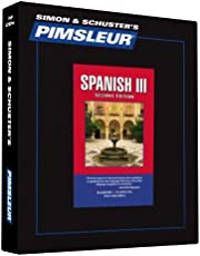 Pimsleur Spanish Level 3 CD: Learn to Speak and Understand Latin American Spanish with Pimsleur Language Programs (Volume 3)