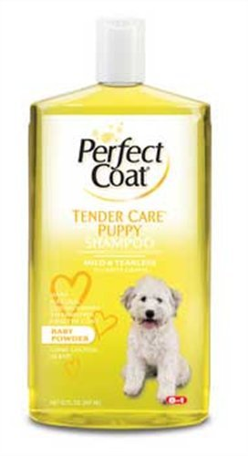 Perfect Coat Puppy Shampoo, 32 Ounce Bottle, Baby Powder Scent, My Pet Supplies