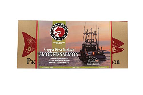 (SeaBear Wild Alaskan Smoked Salmon, 16-Ounce Unit)