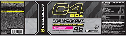 Cellucor C4 50x Watermelon 45 Servings