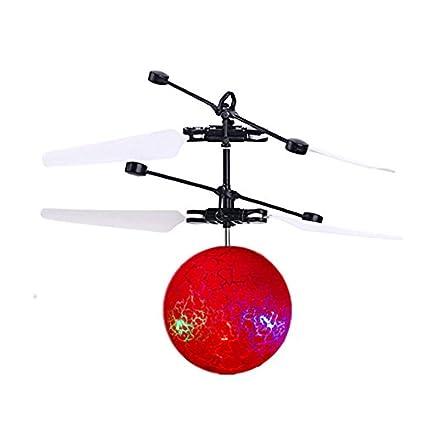 SODIAL Drone de induccion infrarrojo Helicoptero de bola de ...