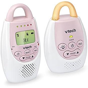 Amazon.com : VTech BA72211PK Pink Audio Baby Monitor with