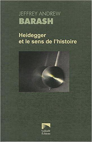 520d6c55880f2 Télécharger google books pdf ubuntu Heidegger et le sens de l histoire PDF  235176014X